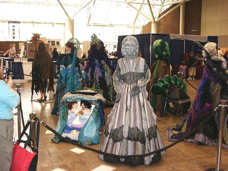 Costume Exhibit, Torcon, 2003