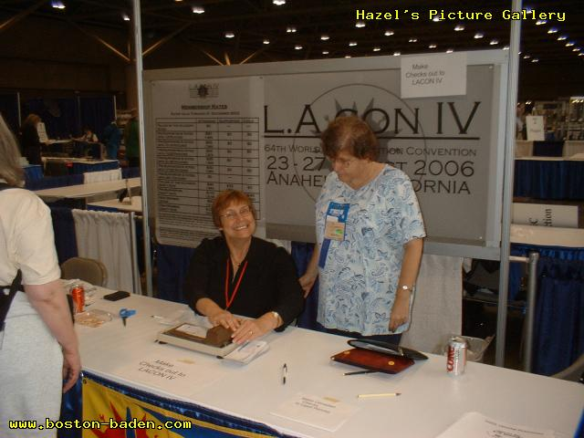 LAcon IV Table at Torcon, 2003